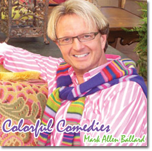 """Colorful Comedies"" CD cover"